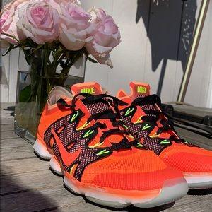 Orange Nike Running Sneakers